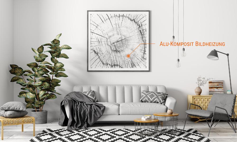 Die Alu-Komposit-Bildheizung erfüllt alle Ansprüche