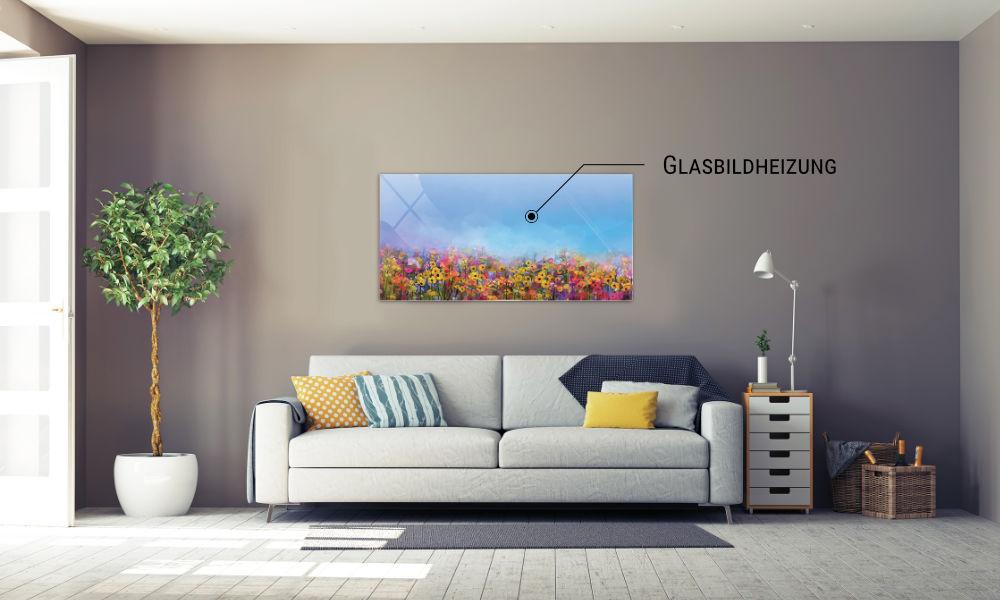 Glasbildheizung - die elegante Heizlösung